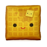Mini Pillow Yummy Waffle by mymimi on Etsy