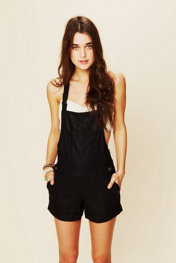 Free People Vegan Leather Overalls at Free People Clothing Boutique