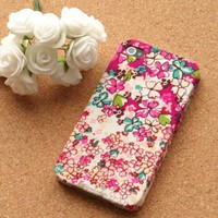 Handmade Retro Flower Case for iPhone