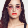 Triangle Neon New Wave Sunglasses - The Acid Test