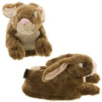 Brown Bunny Slippers for Kids, Women and Men:Amazon:Shoes