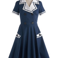 High Seas Entertainer Dress | Mod Retro Vintage Dresses | ModCloth.com