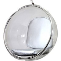 Aarnio Bubble Chair in Silver:Amazon:Home & Kitchen