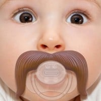 Stachifier - The Cowboy Mustache Pacifier:Amazon:Baby