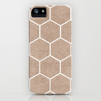 natural hexagon iPhone & iPod Case by her art