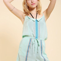 Urban Outfitters - 6 Shore Road Embroidered Cover-Up Romper