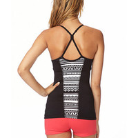 Tribal Print Workout Tank