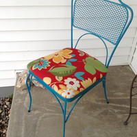 Vintage Patio Garden Cast Iron Chair