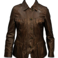 leather jacket for women ladies leather jacket by Rubyleather