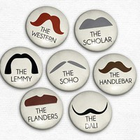 Identify a Stache - Moustache Magnets - Whimsical & Unique Gift Ideas for the Coolest Gift Givers