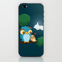 Daddy Owl iPhone & iPod Skin by sedacivan