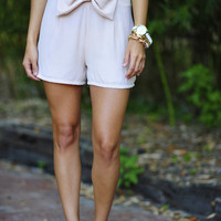 Such A Prep Shorts: Light Taupe | Hope's
