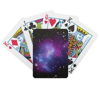 Purple Galaxy Cluster Bicycle® Playing Cards from Zazzle.com