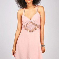 Diamond Midriff Dress | Sexy Dresses at Pink Ice