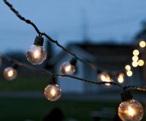 Golden Globe Lights - NapaStyle
