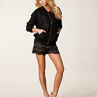 Kristin Lace Bomberjacket, Rebecca Stella For Nelly