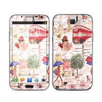 Samsung Galaxy Note II Skin - London by Izak