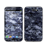 Samsung Galaxy Note II Skin - Digital Navy Camo by DecalGirl Collective