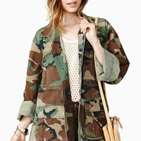 Fight For Love Camo Jacket