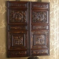 Antique Carved Panels?-?Horchow