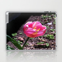 Pink Flower Laptop & iPad Skin by Rhiannon