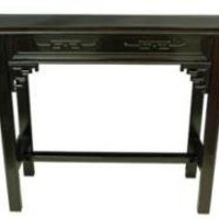 Rosewood Qing Hall Table - OrientalFurniture.com