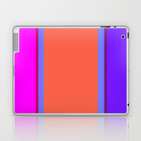 Re-Created Playing Field XXXII Laptop & iPad Skin by Robert Lee