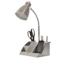 iHome iHL24-Silver Colortunes Desk Organizer Speaker Lamp with iPod Player Compartment, Silver:Amazon:Home Improvement