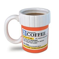 Big Mouth Toys The Prescription Coffee Mug:Amazon:Kitchen & Dining