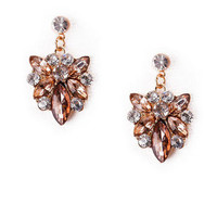 Montreal Crystal Drop Earrings