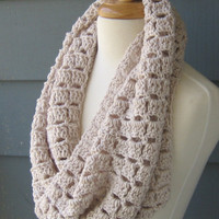 SALE / Custom Order Infinity Scarf Cowl by ArtsyCrochet