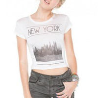 Brandy ♥ Melville |  Carolina New York Top - Clothing