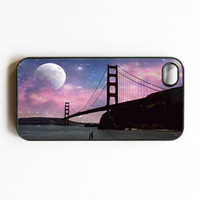 Iphone Case Sweet Dreams SF Purple Golden by SSCphotographycases