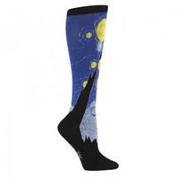 Starry Night Knee High Socks