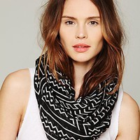 Free People Printed Motif Scarf