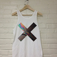 XX Coexist Tank Top Shirt White 100