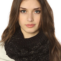 Vans Scarf Clouded Ribbed Infinity in Black