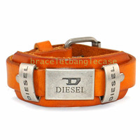 Diesel bracelet leather bracelet buckle bracelet women cuff bracelet men bracelet fashion bracelet jewelry bangle friendship bracelet d-368