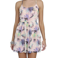 Chiffon Palm Tree Dress | Shop Dresses at Wet Seal