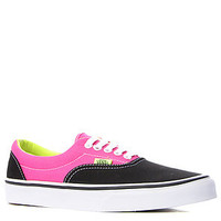 Vans Footwear Sneaker Two Tone Era Lo Top Shoe in Black/Magenta