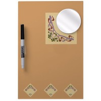 Art Nouveau Medium Dry Erase Board with Mirror from Zazzle.com