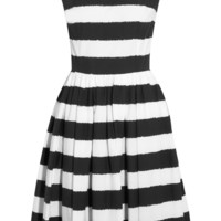 Dolce & Gabbana | Striped cotton dress | NET-A-PORTER.COM