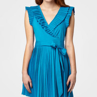 Pleated Zooey Dress
