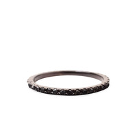 H.R. / Black Diamond Eternity Band  |   La Garçonne