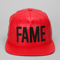 Hall Of Fame Ewing Faux Leather Snapback Hat