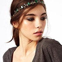 ASOS Jewel Cross Headband