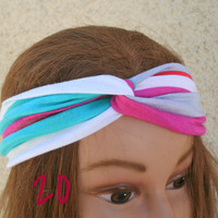 Turban Headband Hair Turban Head Scarf Accessories Hair Headband Stretch Twisted Turban Headband - By PIYOYO