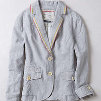 Anthropologie - Striped Sunglow Blazer