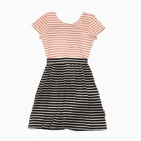 Stussy - Women's Striped Cut Out Dress (Orange)