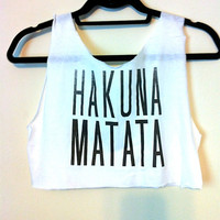Hakuna Matata by OfIvy on Etsy